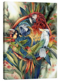 Canvas print  Life's many colours - Jody Bergsma