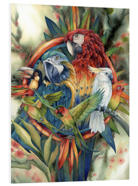 Foam board print  Life's many colours - Jody Bergsma