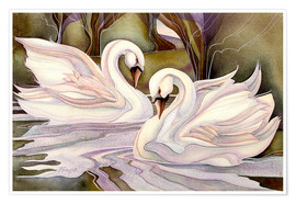 Poster  Together through life - Jody Bergsma