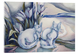 Acrylic print  Miracles come quietly - Jody Bergsma