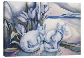 Canvas  Miracles come quietly - Jody Bergsma