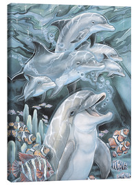 Canvas print  Peace, Love and Laughter - Jody Bergsma