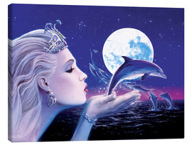 Canvas print  Dolphin Princess - Robin Koni