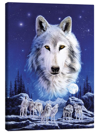 Canvas print  Night of the wolves - Robin Koni