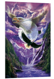 Foam board print  Eagle spirit - Robin Koni