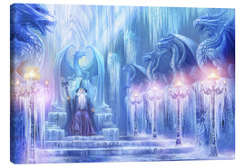 Canvas print  The ice palace - Dragon Chronicles