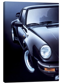 Canvas print  Black Porsche turbo - Gavin Macloud