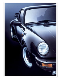 Poster  Black Porsche turbo - Gavin Macloud