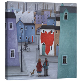 Canvas print  Where the heart is - Peter Adderley