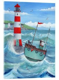 Acrylic glass  Lighthouse - Peter Adderley