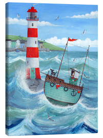 Canvas  Lighthouse - Peter Adderley