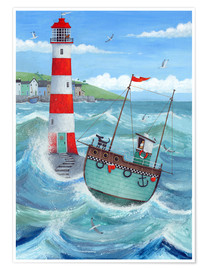 Poster  Lighthouse - Peter Adderley