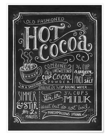 Premium poster  Hot Cocoa - Lily & Val