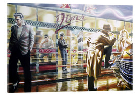 Acrylic print  Diner - Adrian Chesterman