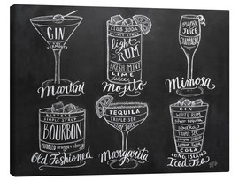Canvas  Cocktail Recipes - Lily & Val