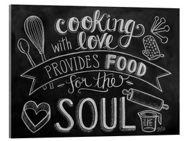 Acrylic print  Cooking With Love - Lily & Val