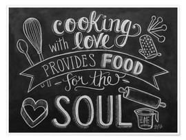 Premium poster  Cooking With Love - Lily & Val