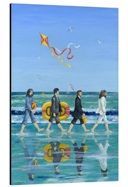 Aluminium print  Abbey Road Beach - Peter Adderley