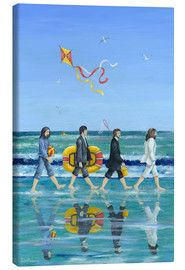 Canvas  Abbey Road Beach - Peter Adderley