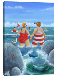 Canvas print  I like to be on the coast - Peter Adderley