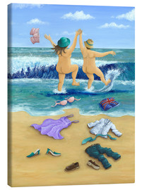 Canvas print  Skinny Dippers - Peter Adderley