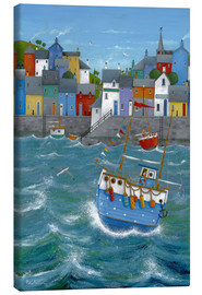 Canvas print  Quayside - Peter Adderley