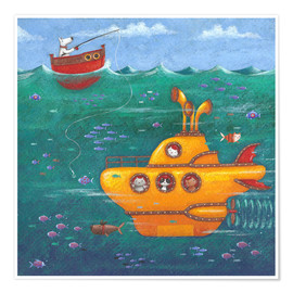 Premium poster  Yellow Submarine - Peter Adderley