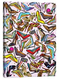 Canvas print  Shoe Crazy - Lewis T. Johnson