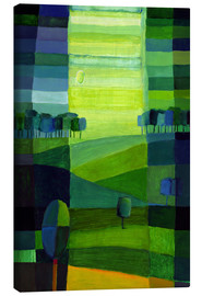 Canvas print  Green hills - Eugen Stross