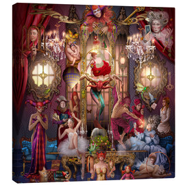 Canvas print  Circus of abstruse - Ciro Marchetti