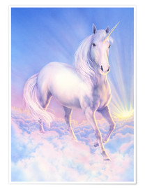 Premium poster  Dream unicorn - Andrew Farley