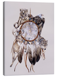 Canvas print  Dream catcher - Jody Bergsma