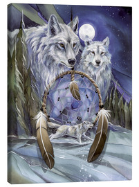Canvas print  Wolves - Jody Bergsma