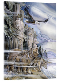 Acrylic print  The three watchmen - Jody Bergsma
