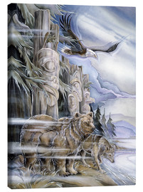Canvas print  The three watchmen - Jody Bergsma