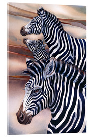 Acrylic glass  Wild At Heart - Jody Bergsma