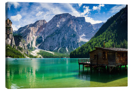 Canvas print  Lake Prags, South Tyrol - Reiner Würz