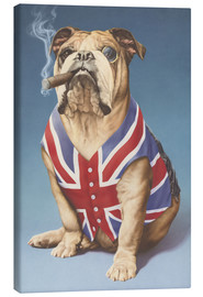 Canvas print  British bulldog - Andrew Farley