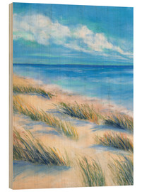 Wood print  Sea view - Jitka Krause