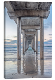 Canvas print  Scripps Pier in La Jolla - Rob Tilley