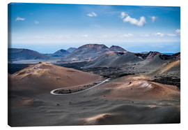 Canvas  Timanfaya National park, Lanzarote - Andreas Wonisch
