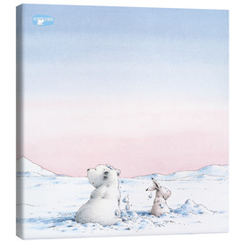 Canvas  The Little Polar Bear, whereas only?