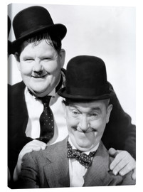 Canvas print  Laurel & Hardy, The Flying Deuces