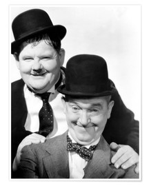 Premium poster  Laurel & Hardy, The Flying Deuces