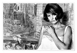 Premium poster  TIME OF INDIFFERENCE, Claudia Cardinale