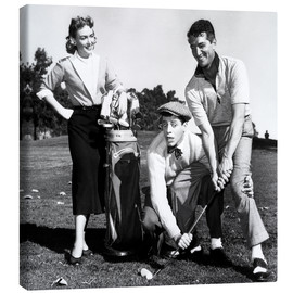 Canvas print  THE CADDY, Donna Reed, Jerry Lewis, Dean Martin