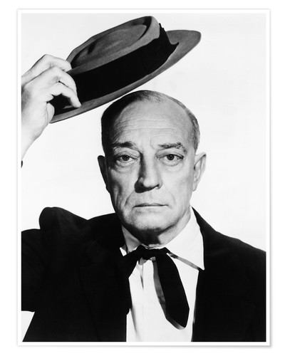 Buster Keaton Posters and Prints | Posterlounge.com