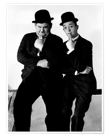 Premium poster  LIBERTY, Oliver Hardy, Stan Laurel