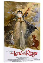 Foam board print  The Lord of the Rings