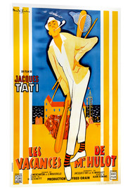 Acrylic print  Mr. Hulot's Holiday